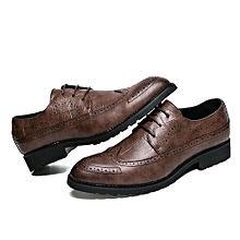 Genuine Leather Men Formal Shoes British Sytle Loafers Slip-On
