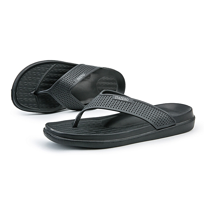 968bd50cad Men's Flip Flops Non Slip Summer Beach Slippers Wide Platform Sandals