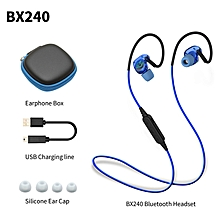 LEBAIQI Plextone BX240 Sport Bluetooth Earphone Waterproof Ear Hook Earbuds Wireless Headset Headphone With Microphone