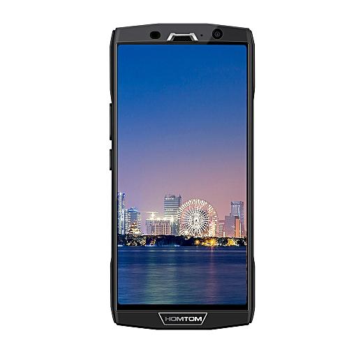 "HT70 4G 6.0"" 4GB RAM 64GB ROM Android 7.0 Dual Rear Cameras 10000mAh Battery - BLACK"