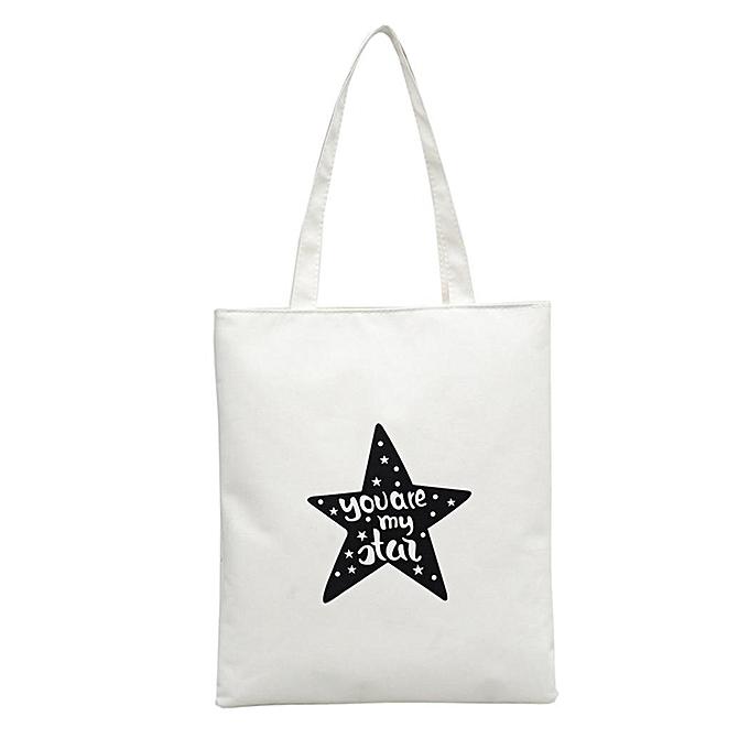 buy sunshine women canvas shoulder bag stars prints handbag array