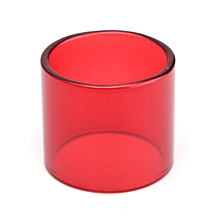 6 Color Replacement Transparent Pyrex Glass Tube Tank Sleeve For TFV8 Baby Beast Red