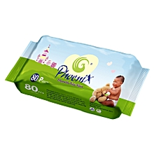 Disposable Baby Wipes - 80 Count