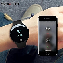 SANDA Bluetooth Smart Watch for IOS Android Men Women Sport Intelligent Pedometer Fitness Bracelet Watches for iPhone Clock Men SD01