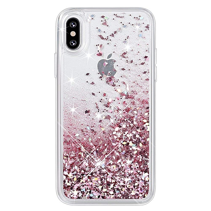 pretty nice e6003 85aaa iPhone X Case, iPhone XS Glitter Case [Liquid Series] Girls Luxury Fashion  Bling Flowing Liquid Floating Sparkle Glitter Cute Soft TPU Case for iPhone  ...