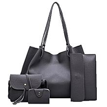 Women Handbag Fashion Four Sets Bag Women Leather Handbags Messenger Bag DG