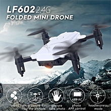 LF602 Foldable Drone with Camera 720P Gesture Photography Altitude Hold Headless Mode Training Toy Quadcopter