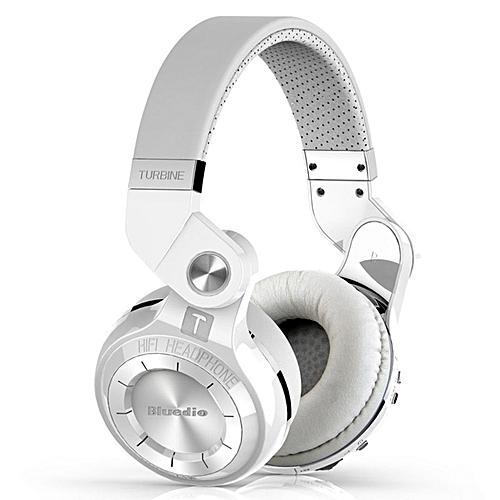 Generic Bluedio T2s Bluetooth Headphones On Ear with Mic Folding Wireless  Headset-white   Best Price  c3fa82cd68bcf
