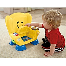 Fisher-Price Baby Chair Smart Stages Educational Yellow Chair Fisher Laugh Learn Baby Toddler Toy, Laugh & Learn Smart Stages Chair