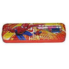 Spider Man Tin Pencil Case  - Red