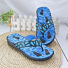 Men Summer Antiskid Flip Flops Shoes Sandals Male Slipper Flip-Flops BU