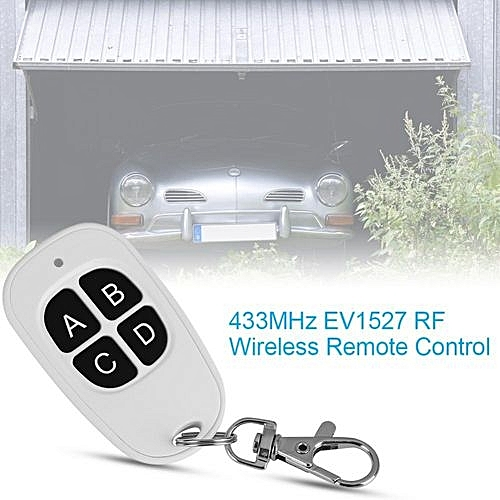 433MHz EV1527 1~4 Channel RF Wireless Remote Control Transmitter For Easy  Control 4 Buttons