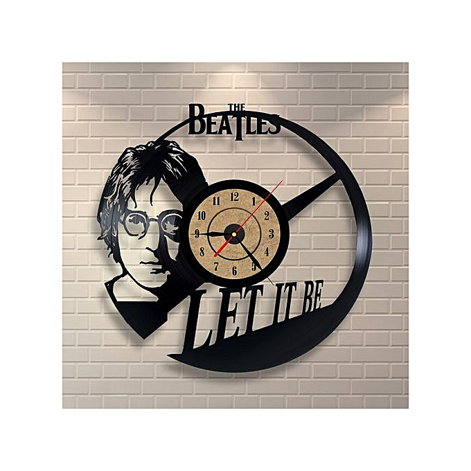 Generic The Beatles Design Vinyl Wall Clock Home Decor Gift
