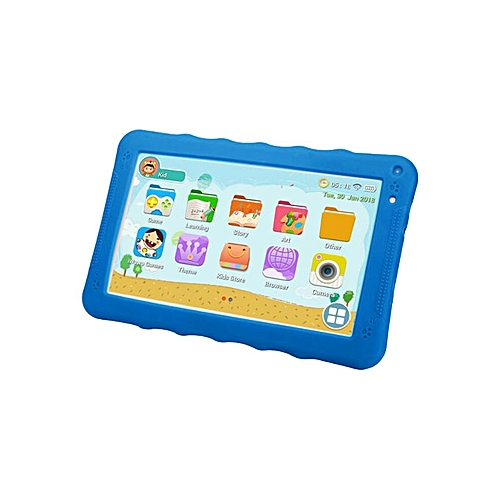 K93 HI Kid Tablet-9 Inch -8GB-512MB RAM - Wifi -Quad Core  -Blue