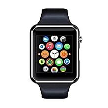 "A1 (1.54"") Smart Watch Phone - Black"