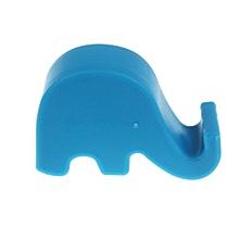 Holder Fashion Lazy Elephant Bedside Phone Holder Slot Stand For Smart Phone BU-Blue