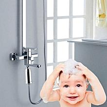 Water Filter Purifier Dechlorination Shower - Silver