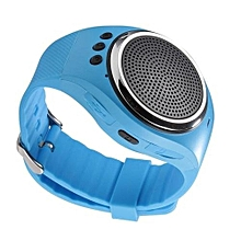 RS09 New Bluetooth Smart Watch Bracelet WristWatch With Music(Blue)