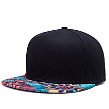 Fashioned Base Ball Cap Unisex Stylish Printing Trendy Flat Brim Adjustable Personalized Street Dance Gift For Christmas Halloween Colour:W47 Color Size:adjustable