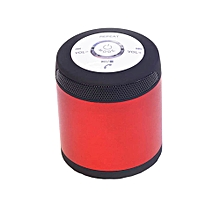 Portable Wireless Bluetooth Stereo FM Speaker For Smartphone Tablet Laptop -red