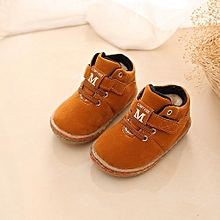 e4ed13f16f2518 bluerdream-Boy Girls Fashion Kids Shoes Baby Martin Boots Casual Children  Boots Shoes YE
