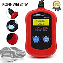 KW805 Code Reader CAN BUS OBDII Car Diagnostic Tool MS300 OBD2 Scanner LBQ