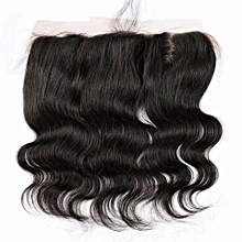 Princess Hair Collections Peruvian Human Hair Body Wave Frontal 13*4