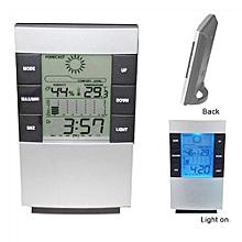 Digital LCD Thermometer Hygrometer Indoor Temperature Humidity Monitor Clock