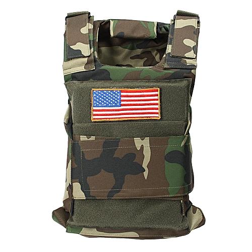 6fa6986c1e0bc Generic Body Bulletproof Vest Front Back Plates Armor Tactical Jacket Guard  Security Kit Jungle Camo