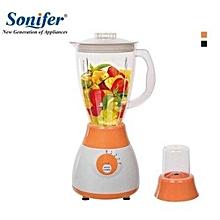 2in1 Blender with Mill & Grinder - 300W - White & Orange -