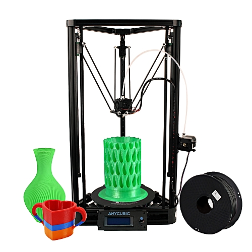 Anycubic Kossel Linear Plus 3D Printer DIY Kit Support Auto Leveling Large  Printing Size 230 * 300mm Fast Speed High Accuracy LCD Display Including