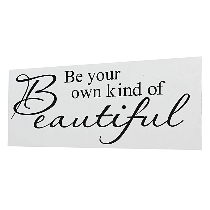 Buy Generic Be Your Own Kind Of Beautiful Vinyl Wall Stickers Quotes