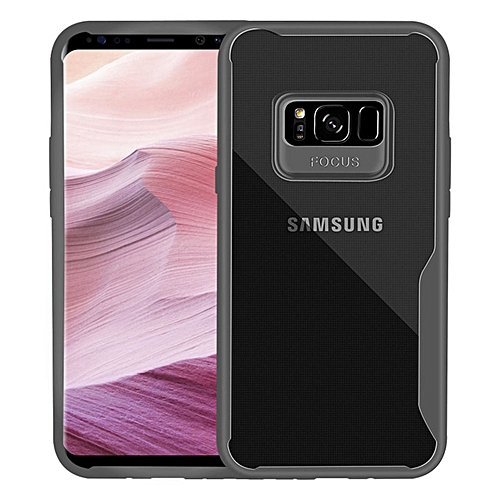 new product 19b3c 3a374 Evergreenbuying Samsung Galaxy S8 Case,Slim Super Shockproof Anti Scratch  Protective Soft Tough Bumper Scrub Back Phone Case Cover for Samsung Galaxy  ...