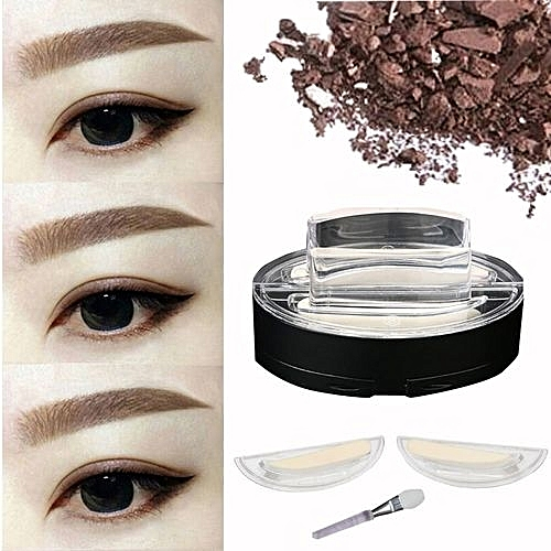 Generic Brow Stamp Powder Delicated Natural Perfect Enhancer Straight United Eyebrow