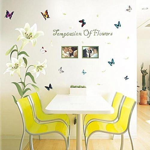 Buy Skywolfeye Photo Frame PVC Wall Decals Adhesive Wall Stickers ...