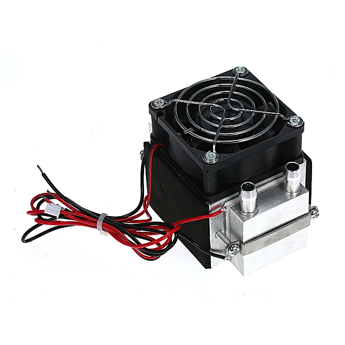 DIY 12V TEC Electronic Peltier Semiconductor Thermoelectric Cooler  Refrigerator Water-cooling Air Condition Movement Cooling System