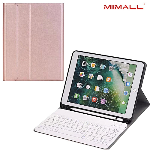finest selection 645ad 6bcb1 iPad Pro 10.5 Keyboard Case with Apple Pencil Holder - Slim Shell  Protective Cover with Magnetically Detachable Wireless Bluetooth Keyboard  for Apple ...