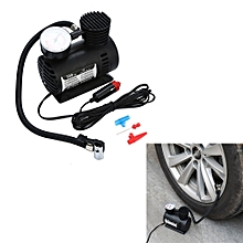AfricanmallDN store  12V Portable Mini Air Compressor 300 PSI Car Van Bike Tyre Inflator -Black