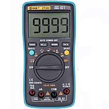 BSIDE ZT302 Digital Multimeter True RMS 9999 Counts LED Backlight AC DC Voltage Current Resistance