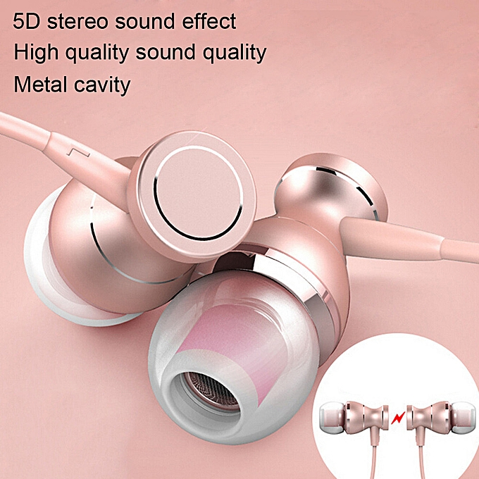 3 5mm With Microphone Bass Stereo In-Ear Earphones Headphones Headset  Earbuds