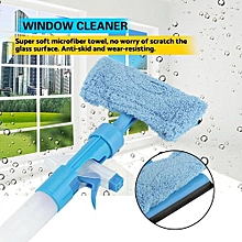 Multifunction Window Cleaner Microfiber Towel Spray Brush For Home Car Glass Cleaning