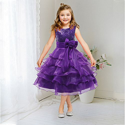 3 14yrs Teenagers Girls Dress Wedding Party Princess Christmas Dresse Kids  Cotton Party Girls Clothing