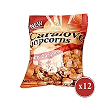 Flavoured popcorns Caramel flavoured popcorns 50g-popcorns-available in 12 pack
