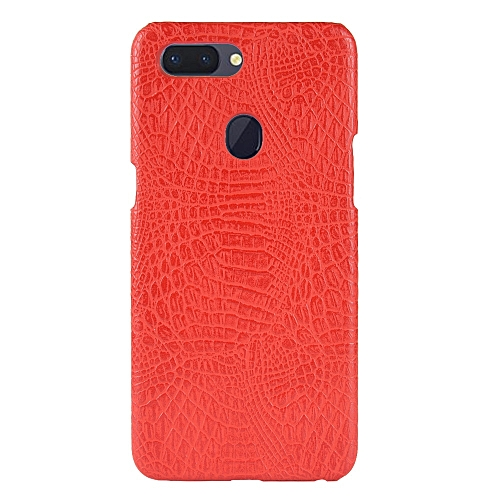 the latest 13e15 d60d3 OPPO R15 Case, [Crocodile Texture] PU + Scratch-resistant Hard Hard PC  Protective Case Cover for OPPO R15 6.28