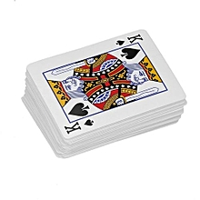 HP Poker Playing Card Close-up Magic Trick Props Deck of Cards Toys for Gift red