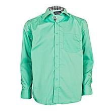 Light Green Button Down Shirt
