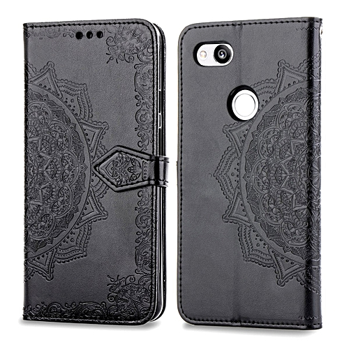 quality design 0f73d 499c0 Google Pixel 3 Case,Mandala Embossing PU Leather Magnetic Flip Folio  Kickstand Wallet Case with Card Slots Case for Google Pixel 3 5.5