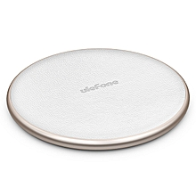 Ulefone UF002 10W Fast Wireless Charging Pad Support Qi Standard Mobile Phone Charging for iPhones Samsung Android Devices White
