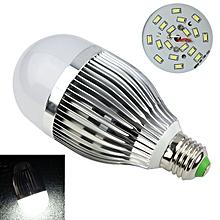 85~265V E27 9W 18SMD LED Globe Bulb Light Lamp Silver Case Cool White
