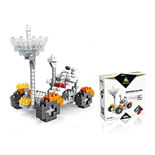 YZ Diamond Blocks Lunar Mover Moon Car 246PCS Kid Gift Blocks Toys-